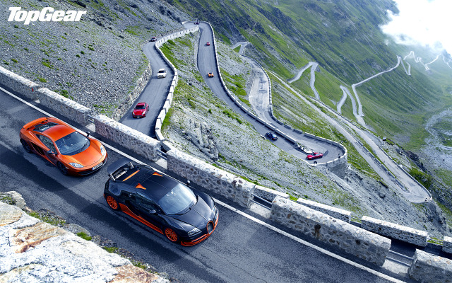 Top Gear na Stelvio
